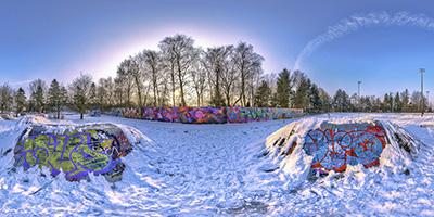 Vorschau: Skatepark im Winter