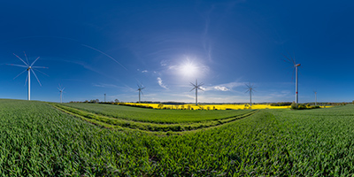Windkraftanlagen Holtsee